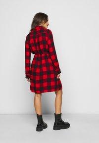GAP - UTILITY DRESS - Shirt dress - red - 2