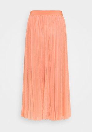 DIGA - Áčková sukně - salmon pink