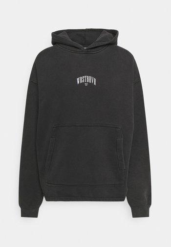 LEVI HOODIE UNISEX - Sweatshirt - black