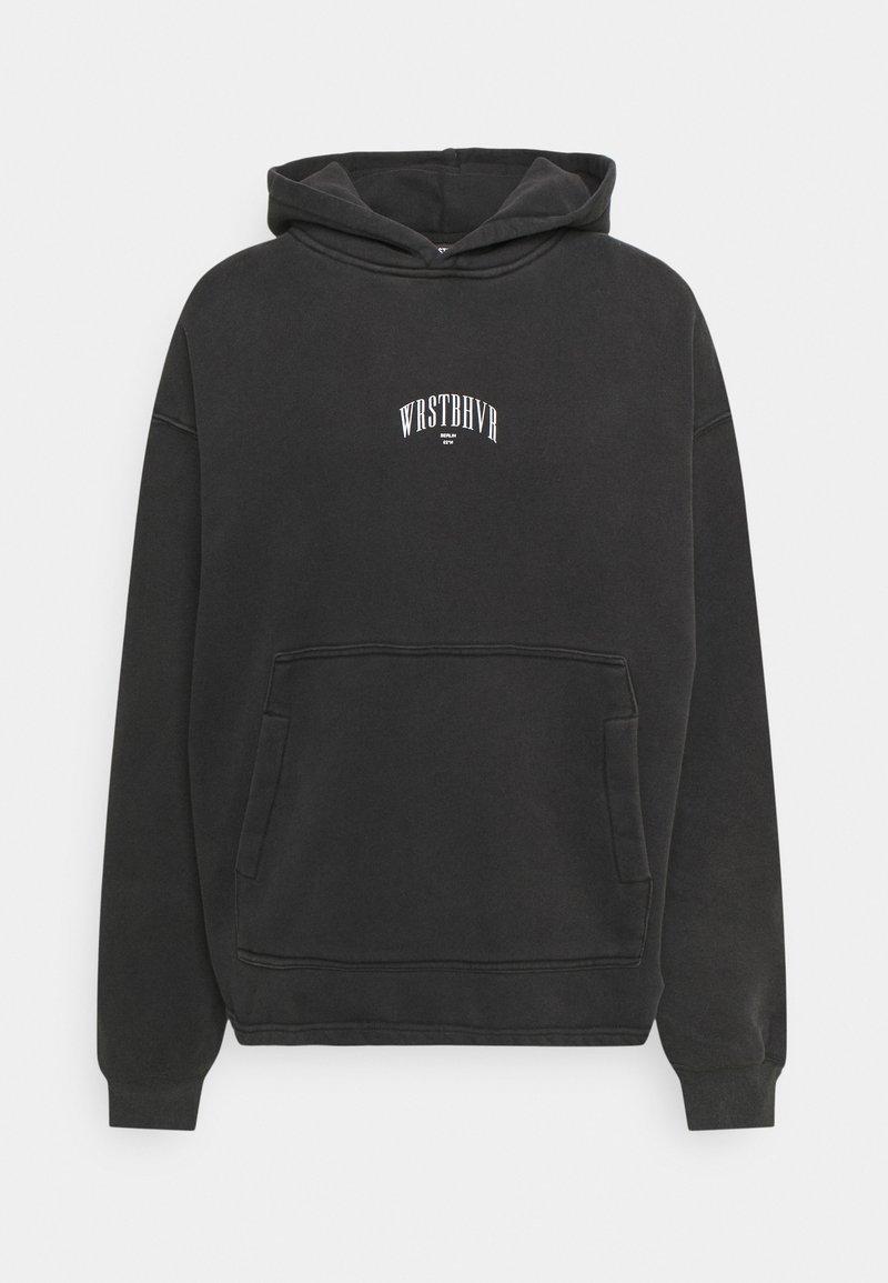 WRSTBHVR - LEVI HOODIE UNISEX - Sweatshirt - black