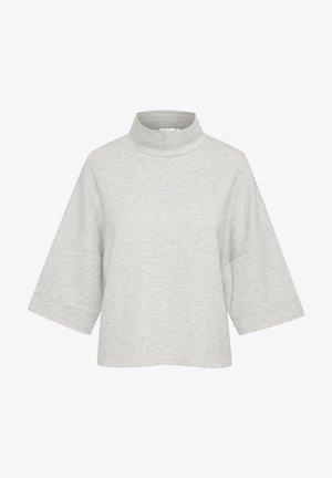 Blouse - new light grey melange