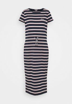 BARBOUR BAYSIDE DRESS - Žerzejové šaty - navy