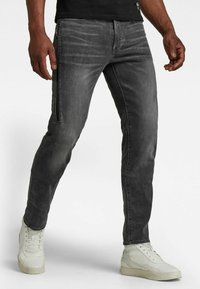 G-Star - CITISHIELD 3D SLIM TAPERED - Slim fit jeans - faded gravel grey wp - 0