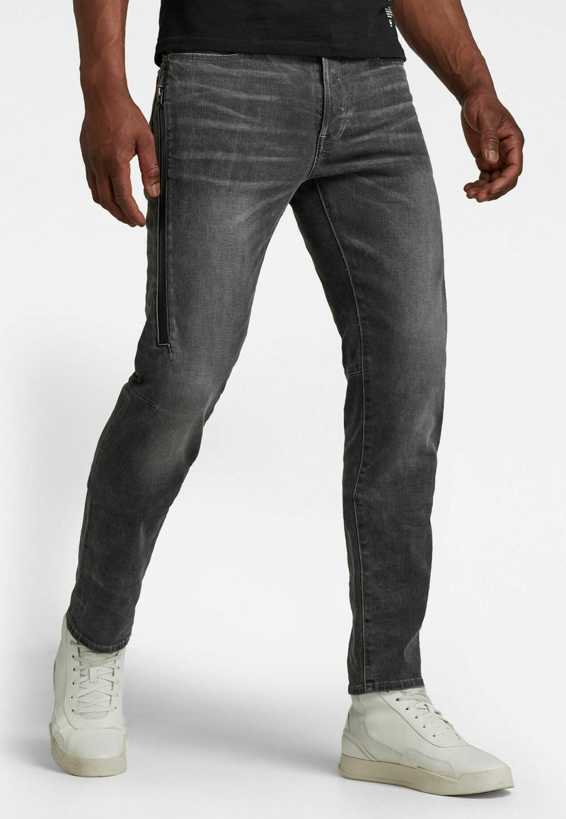 G-Star - CITISHIELD 3D SLIM TAPERED - Slim fit jeans - faded gravel grey wp