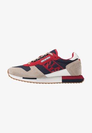 Sneakersy niskie - navy/beige/multicolor