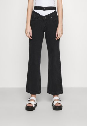 BUG JEAN  - Jeans straight leg - charcoal