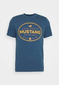 Mustang - ALEX PRINT - Triko spotiskem - ensigne blue - 4