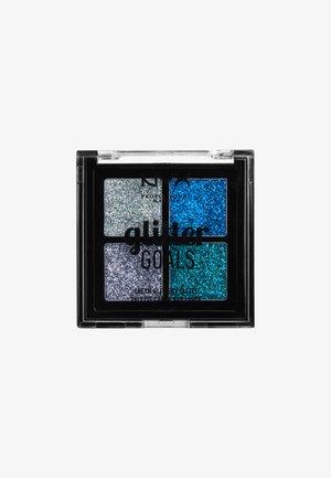 GLITTER GOALS CREAM QUAD PALETTE - Eyeshadow palette - 1 glacier