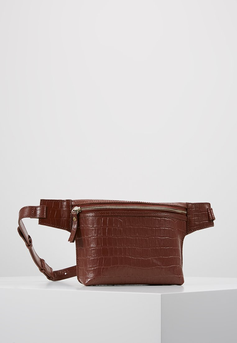 mint&berry - LEATHER - Bum bag - whiskey