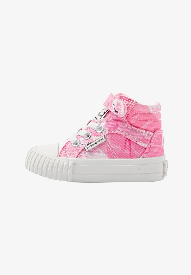 DEE - Sneakers hoog - pink flamingo