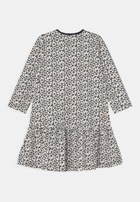 Marimekko - KULTARINTA PIKKUINEN UNIKKO - Jersey dress - black/off white - 1