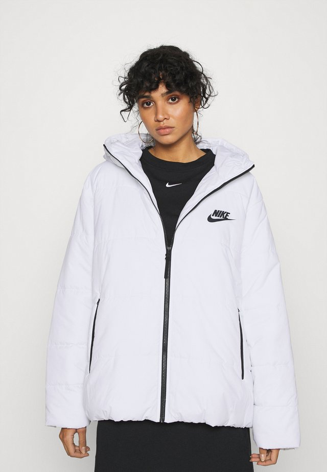 Winter jacket - white/black