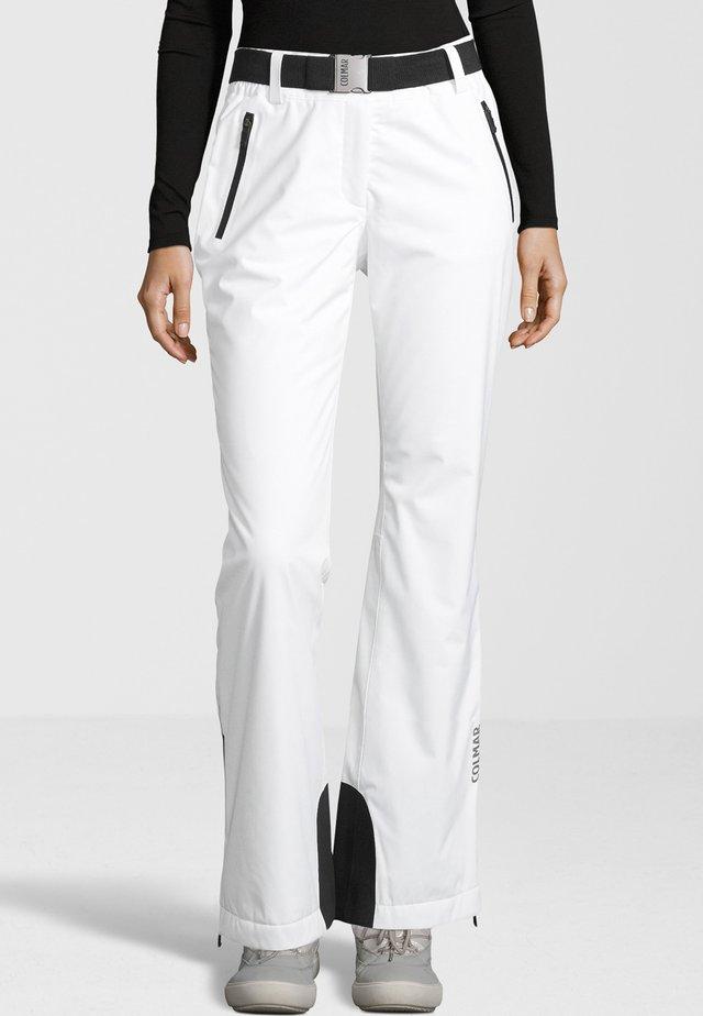 SAPPORO - Pantalon classique - white