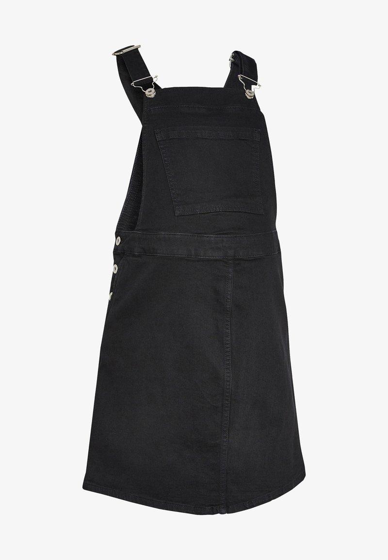 Next - Denim dress - black