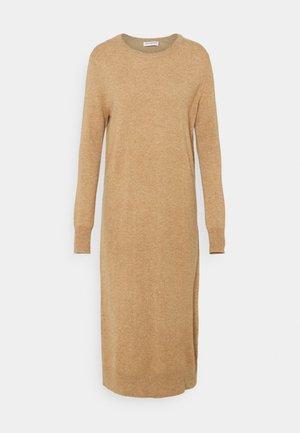 CREW NECK DRESS - Jumper dress - beige
