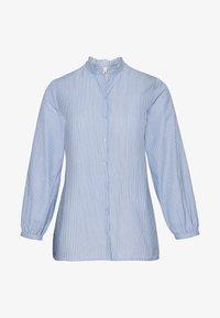 Sheego - Button-down blouse - offwhite gestreift - 4