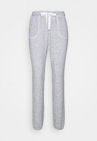 PANT BRUSHED JERSEY STRIPE - Pyjama bottoms - dark denim