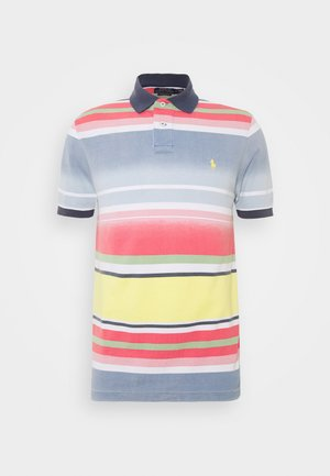 BASIC - Polo shirt - french blue/multi