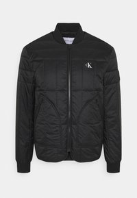 Calvin Klein Jeans - QUILTED LINER JACKET - Giubbotto Bomber - black - 0