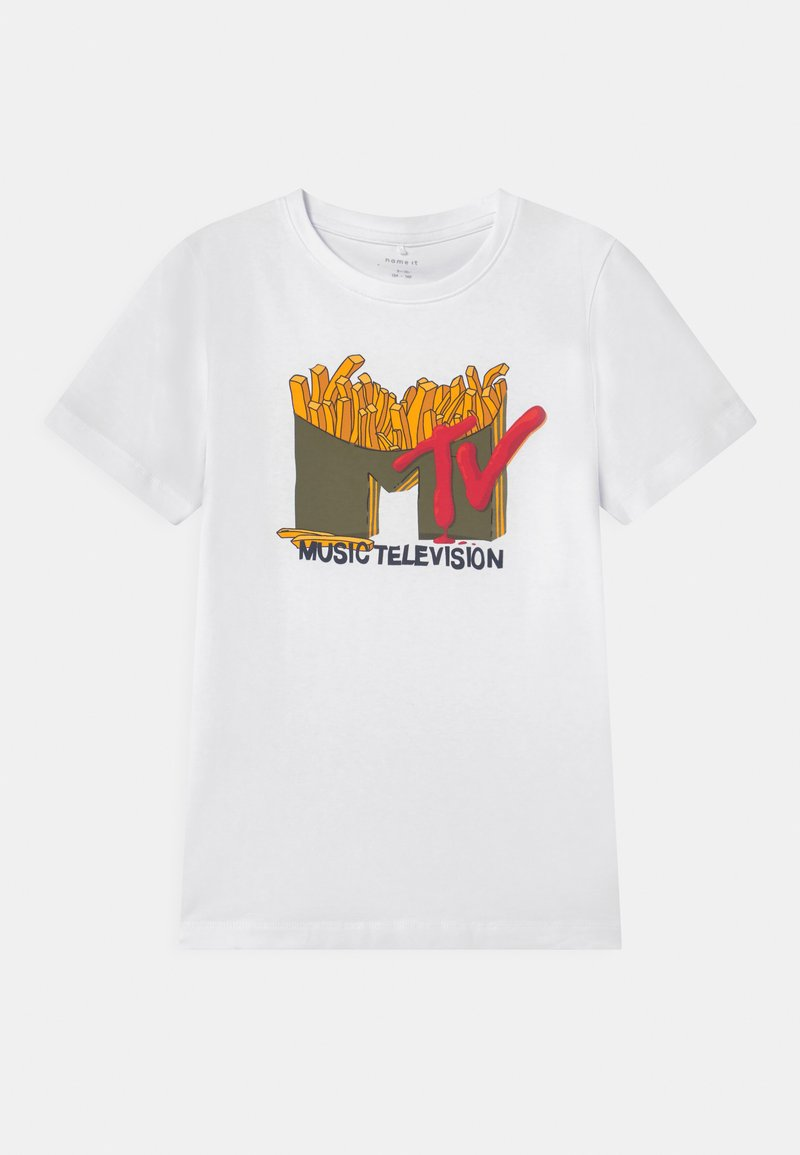 Name it - T-shirt imprimé - bright white