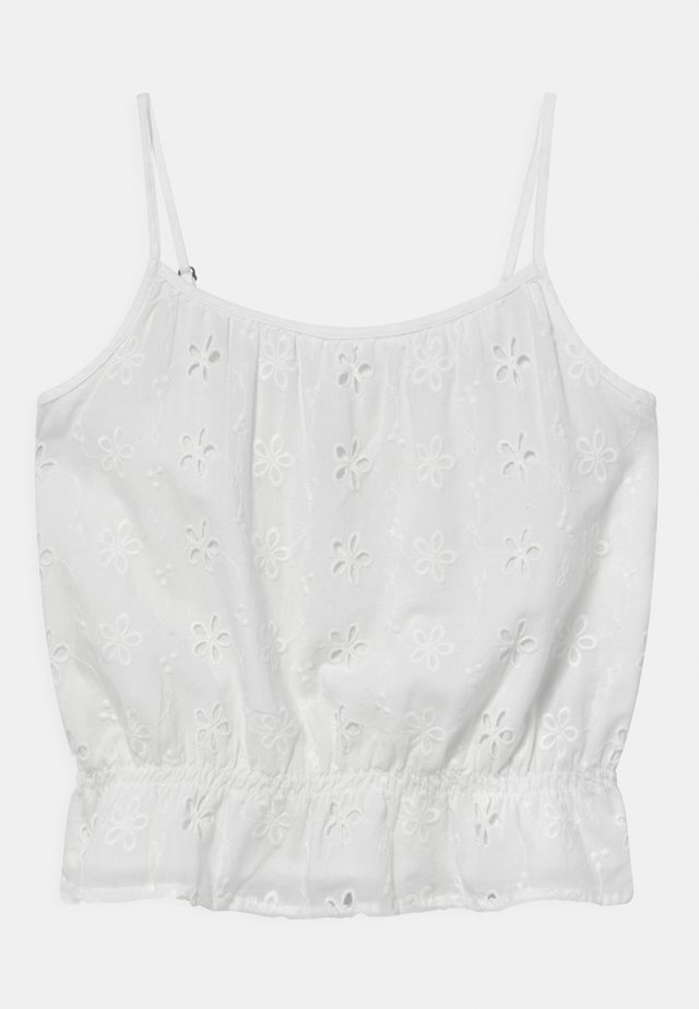 CINCHED MATCH - Top - white