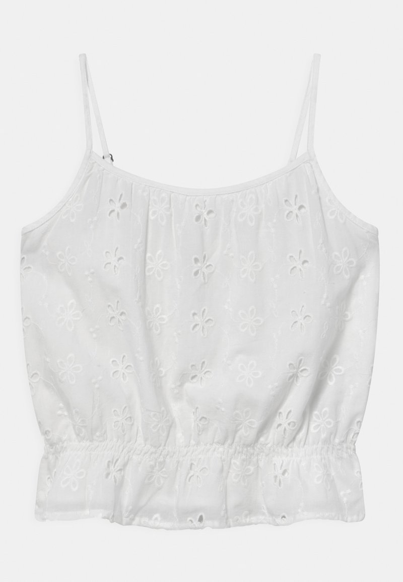 Abercrombie & Fitch - CINCHED MATCH - Top - white