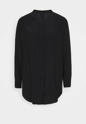 FEINKE - Shirt dress - black