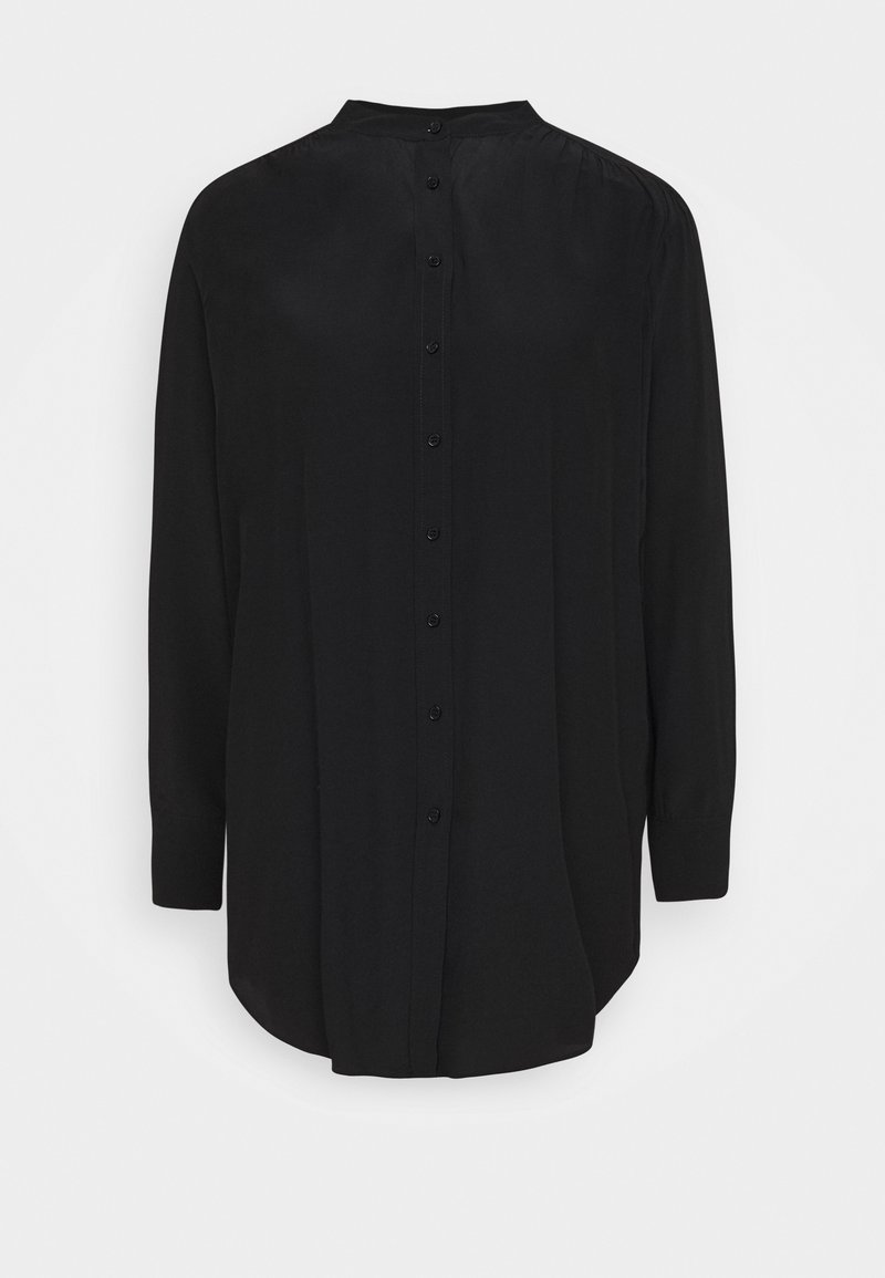 Opus - FEINKE - Shirt dress - black