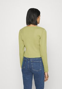 Monki - Cardigan - olive green - 2