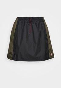 Nike Sportswear - SKIRT - A-line skirt - black/twilight marsh - 4