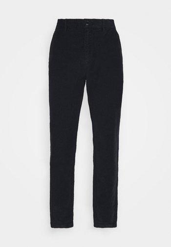 DEAN - Chino kalhoty - midnight