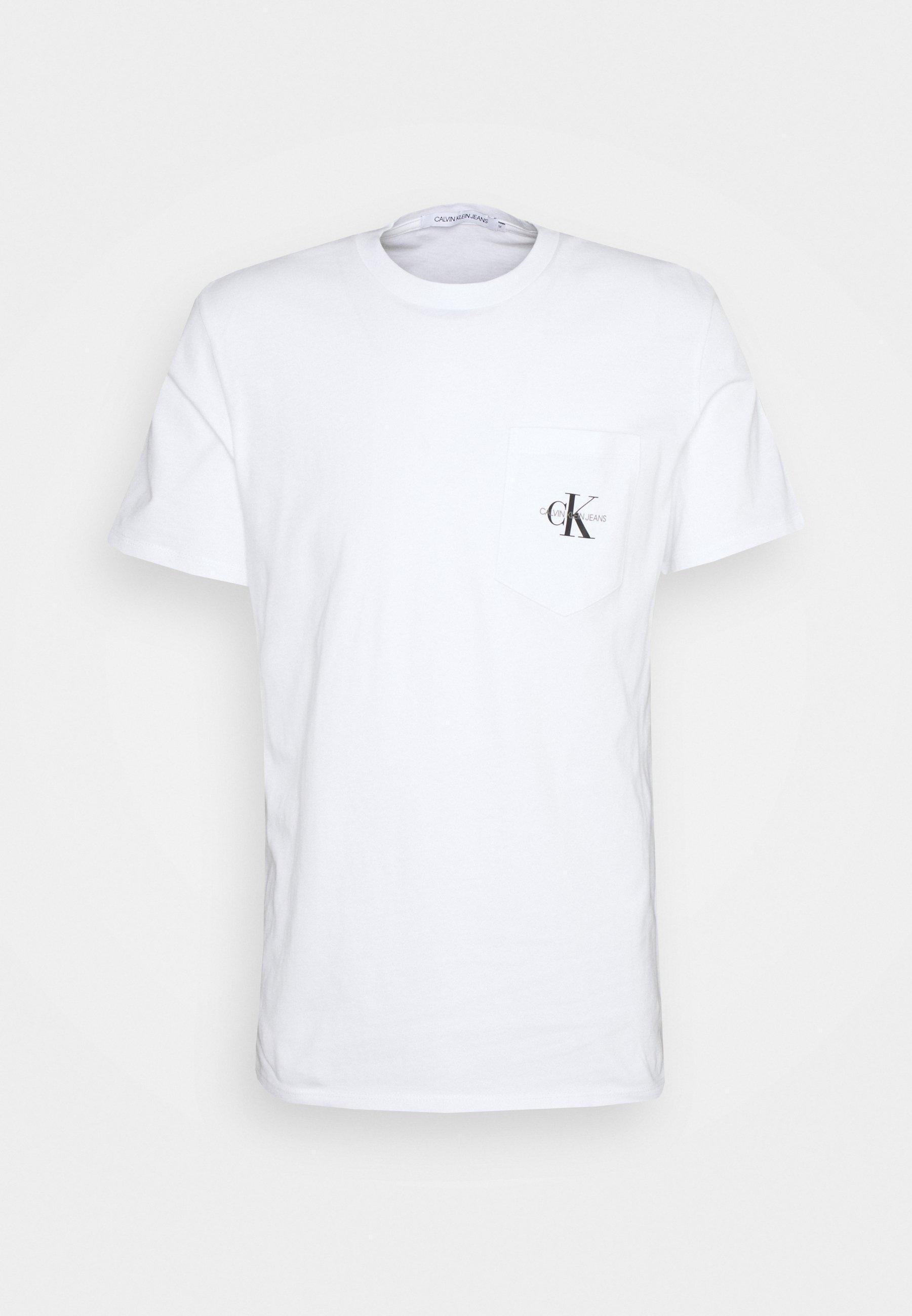 Homme MONOGRAM POCKET TEE - T-shirt imprimé