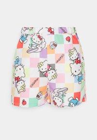 HELLO CHECKERBOARD SHORT - Shorts - multi