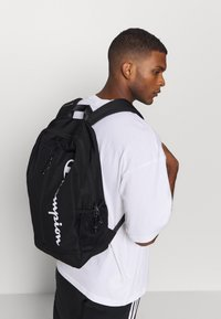 Champion - LEGACY BACKPACK - Ryggsekk - black - 0