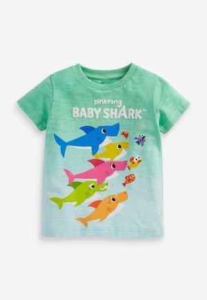T-shirt print - teal