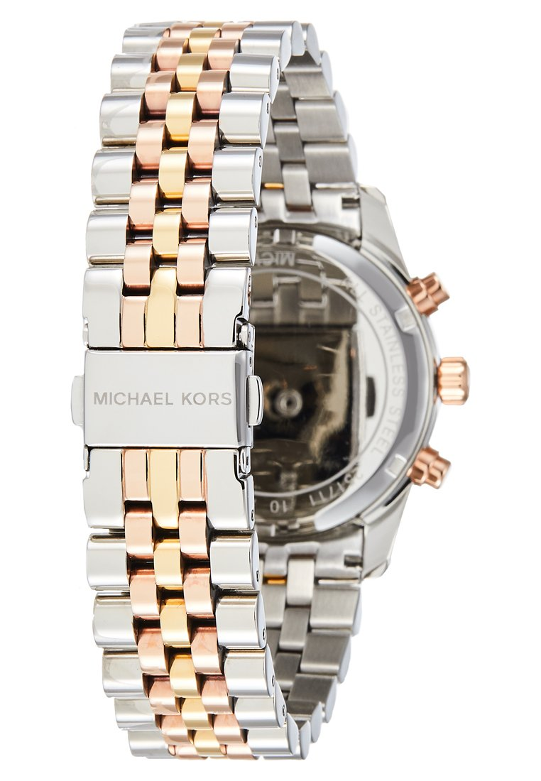 Reliable Fashion Style Accessories Michael Kors LEXINGTON Chronograph watch silver-coloured/gold-coloured/rosegold-coloured Wveh1B1hO ibpuVNXQ1
