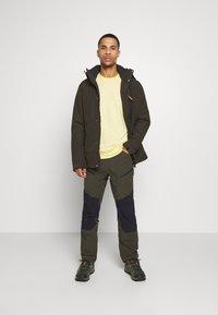 Icepeak - BREWER - Outdoor trousers - dark green - 1
