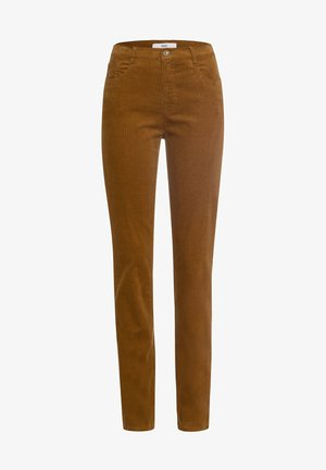 STYLE MARY - Trousers - walnut