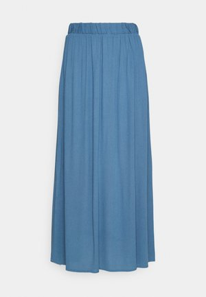 IHMARRAKECH - Pleated skirt - coronet blue