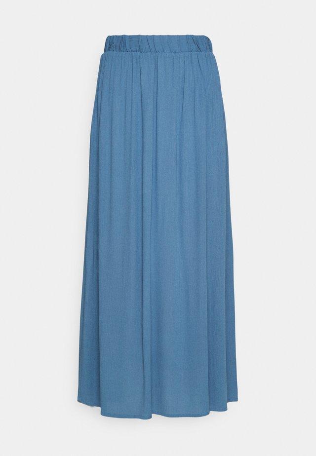 IHMARRAKECH - Veckad kjol - coronet blue