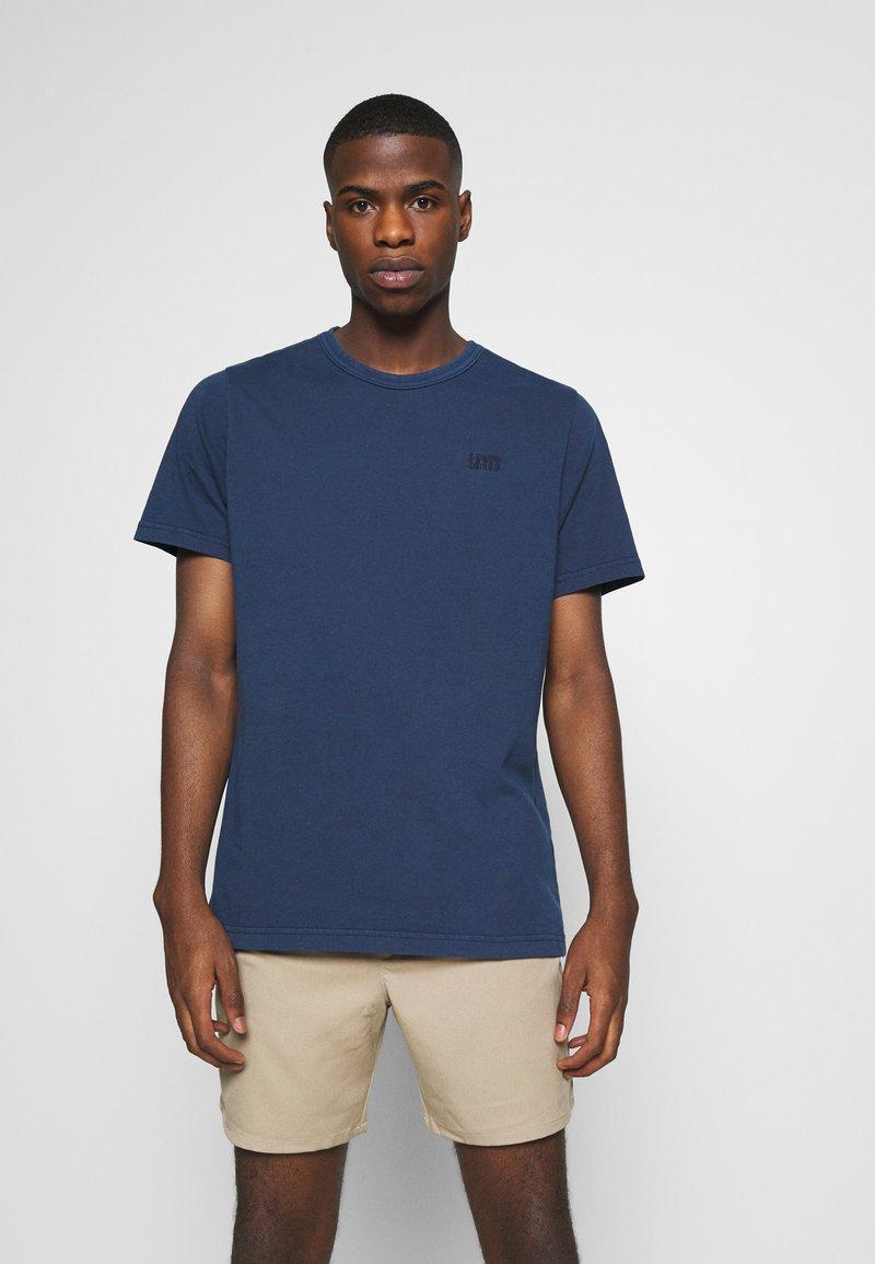 Levi's® - AUTHENTIC CREWNECK TEE - Basic T-shirt - dark blue