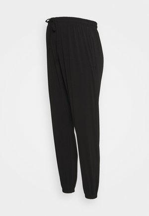 MATERNITY SUPER SOFT HAREM PANT - Trousers - black