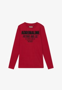 Petrol Industries - Long sleeved top - fire red - 2
