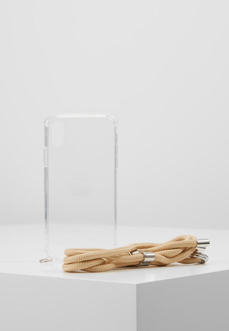Jost - IPHONE X/XS CASE NECKLACE - Phone case - sand