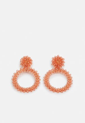 PCNOLIVIA EARRINGS KEY - Øreringe - misty rose