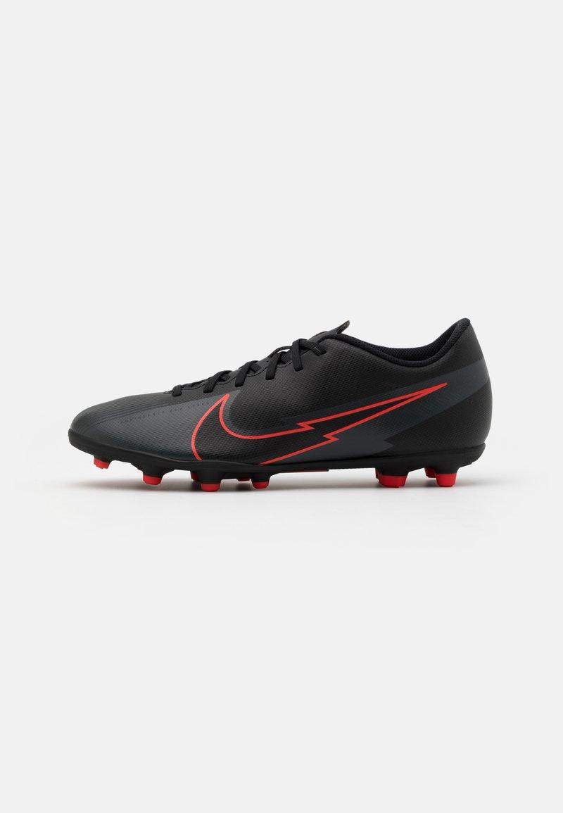 Nike Performance - MERCURIAL VAPOR 13 CLUB FG/MG - Moulded stud football boots - black/dark smoke grey