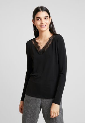 VMMILLA - Long sleeved top - black