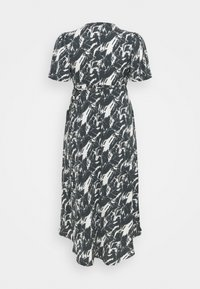 Missguided Plus - HIGH LOW DRESS - Maxi dress - navy - 1