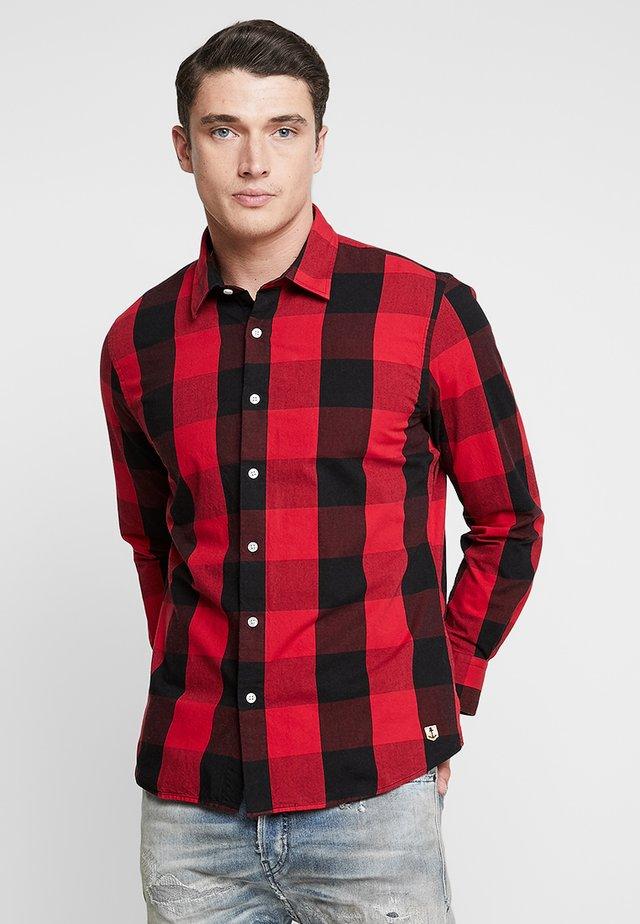 CHEMISE HÉRITAGE - Shirt - grands carreaux vernis