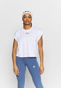 MSGM - Basic T-shirt - white - 0